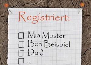 Bereits registriert