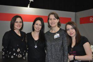 Lovely Meet & Greet mit Sarah Saxx, Elvira Zeißler und Sarah Stankewitz auf der LBM18