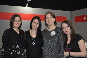 J. Vellguth, Sarah Saxx, Ellen McCoy, Sarah Stankewitz (von links nach rechts)