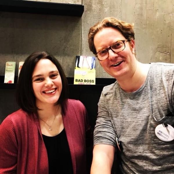 Signierstunde mit Michael Meisheit (aka Vanessa Mansini) am Amazon-Stand LBM18