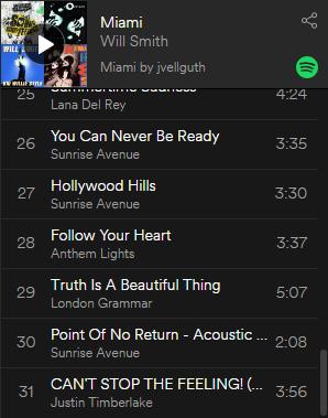 """Die Playlist zu """"Verliebt in Miami"""""""
