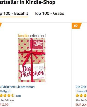 """""""Das Päckchen"""" ist Amazon Kindle-Bestseller!"""