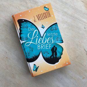 """""""Der letzte Liebesbrief"""" - Hardcover Frontansicht"""