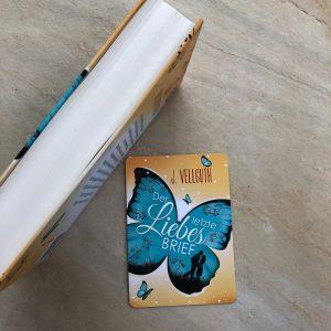 """""""Der letzte Liebesbrief"""" - Hardcover Buchschnitt"""