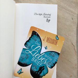 """""""Der letzte Liebesbrief"""" - Hardcover Schmutztitel"""