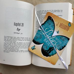 """""""Der letzte Liebesbrief"""" - Hardcover Lesebändchen"""
