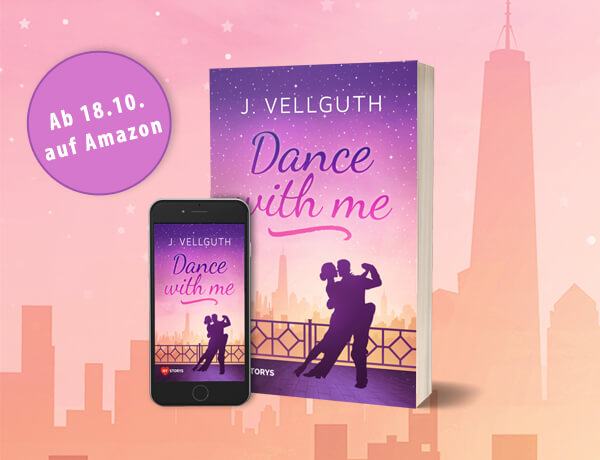 Dance with me Cover vor der Skyline von New York