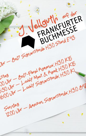 Triff mich auf der Frankfurter-Buchmesse ☺️