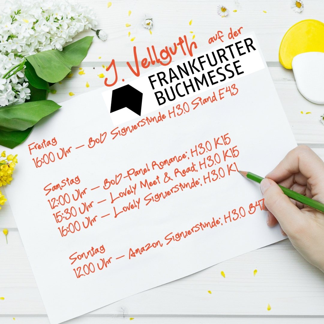 Termine auf der Frankfurter Buchmesse